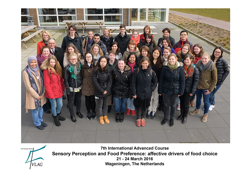 Participants Sensory Perception and Food Preferences 2016